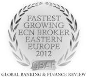 RoboForex: Самый быстроразвивающийся ECN-брокер в регионе Восточная Европа 2012 года